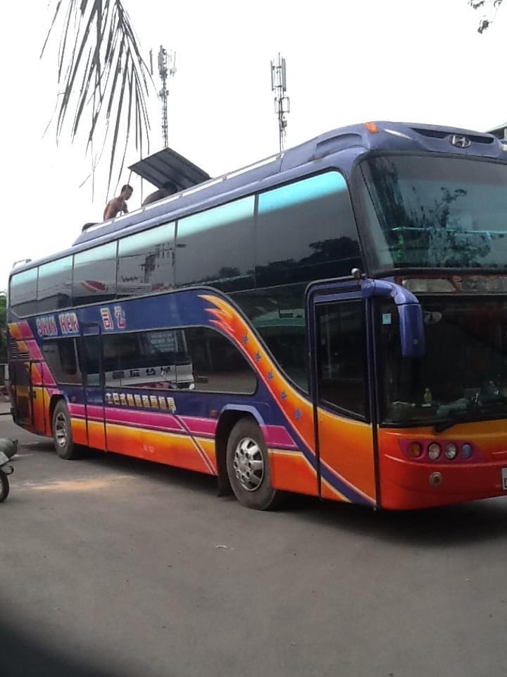 BUS HANOI - LAOS