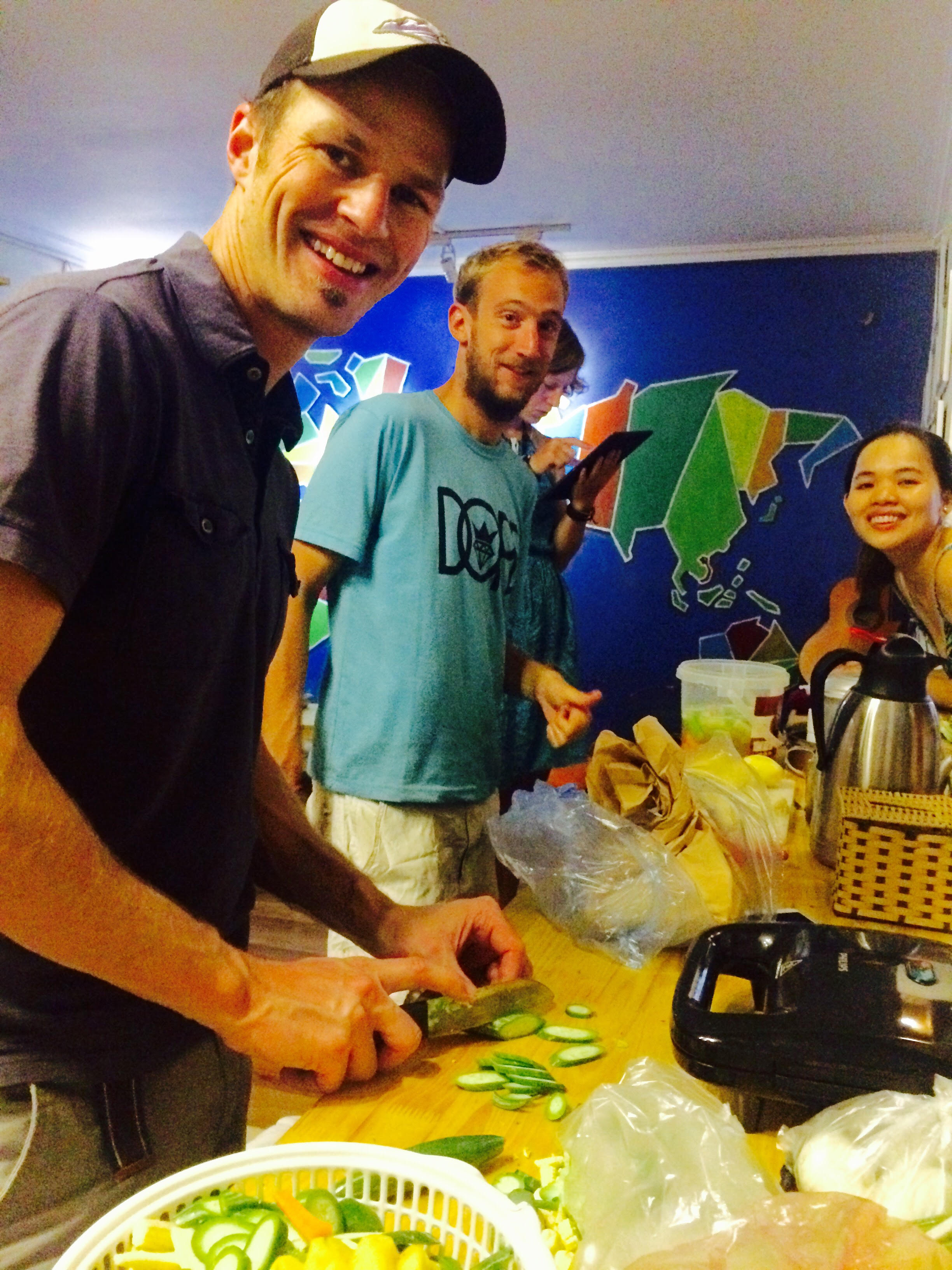 VIETNAMESE DAILY COOKING CLASS (price per person, for the group of 9-10 pax)