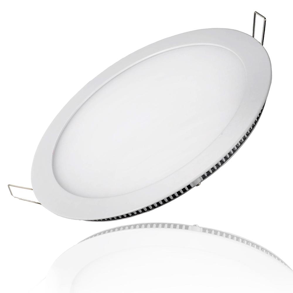 Đèn LED âm trần siêu mỏng, nguồn rời, bảo hành 2 năm