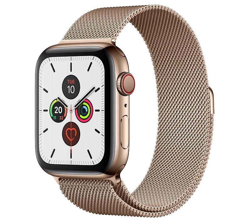 Apple Watch Seri 6 -44mm- Stainless Steel Milanese Loop