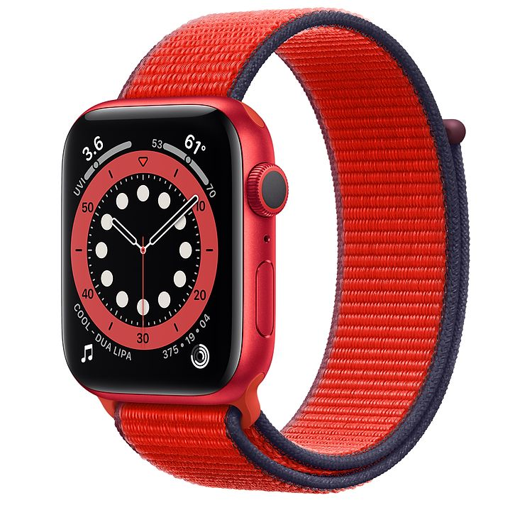 Apple Watch Seri 6 - 40 mm - LTE -