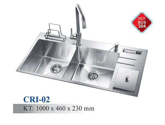 Chậu rửa chén Inox mã CRI-02