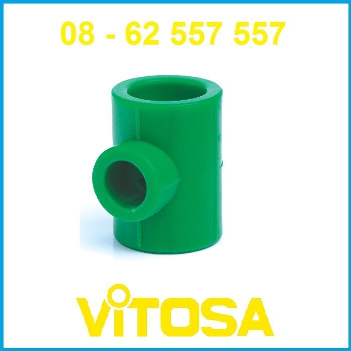 Tê thu 50/25 ( Tê giảm) PP-R Vitosa