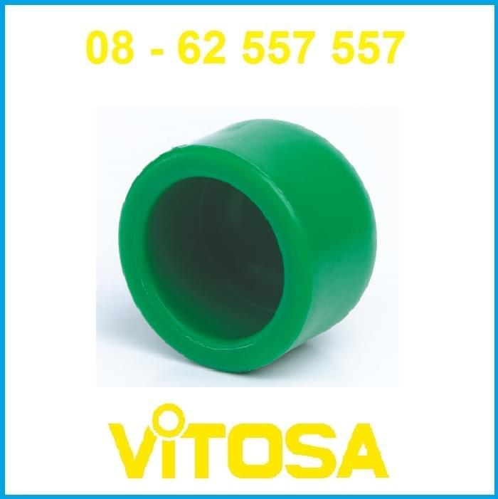 Nút bít trơn 50 PP-R Vitosa