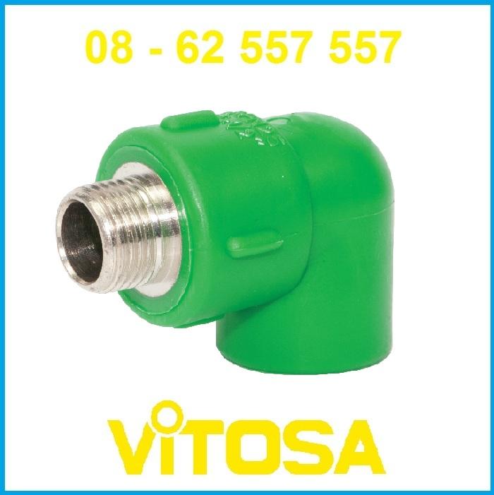 Co ren ngoài 20*1/2 PP-R Vitosa