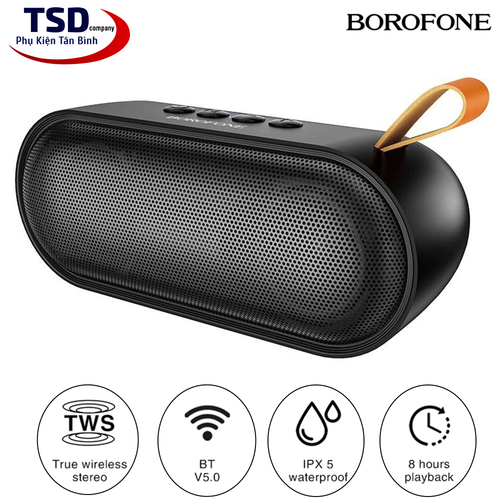 Loa Bluetooth Mini Borofone BR8 Chính Hãng V5.0 True Wireless Stereo
