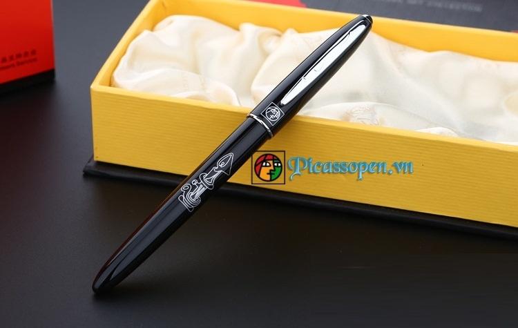 Bút dạ bi Picasso 606 màu đen