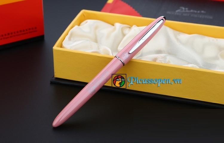 Bút dạ bi Picasso 606 màu hồng