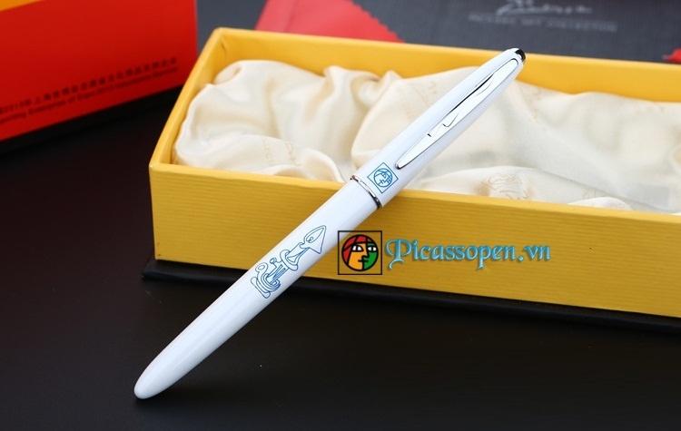 Bút dạ bi Picasso 606 màu trắng