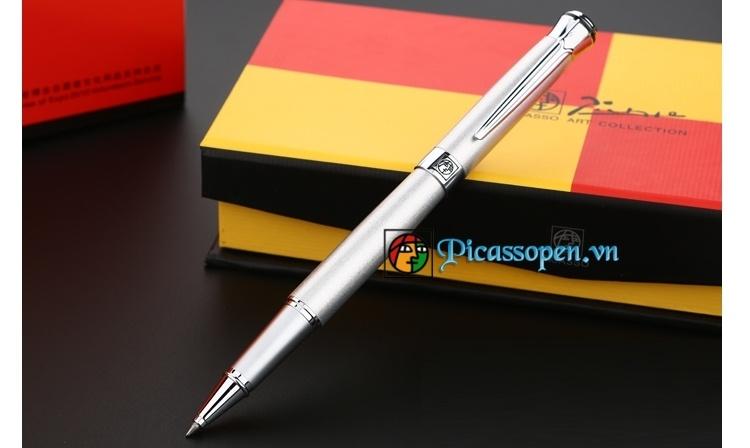 Bút dạ bi Picasso 903 màu bạc
