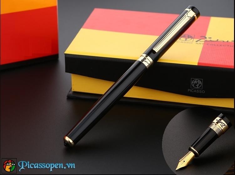 Bút máy Picasso 908 màu đen