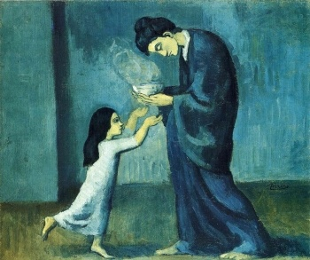 The soup (Picasso 1902)