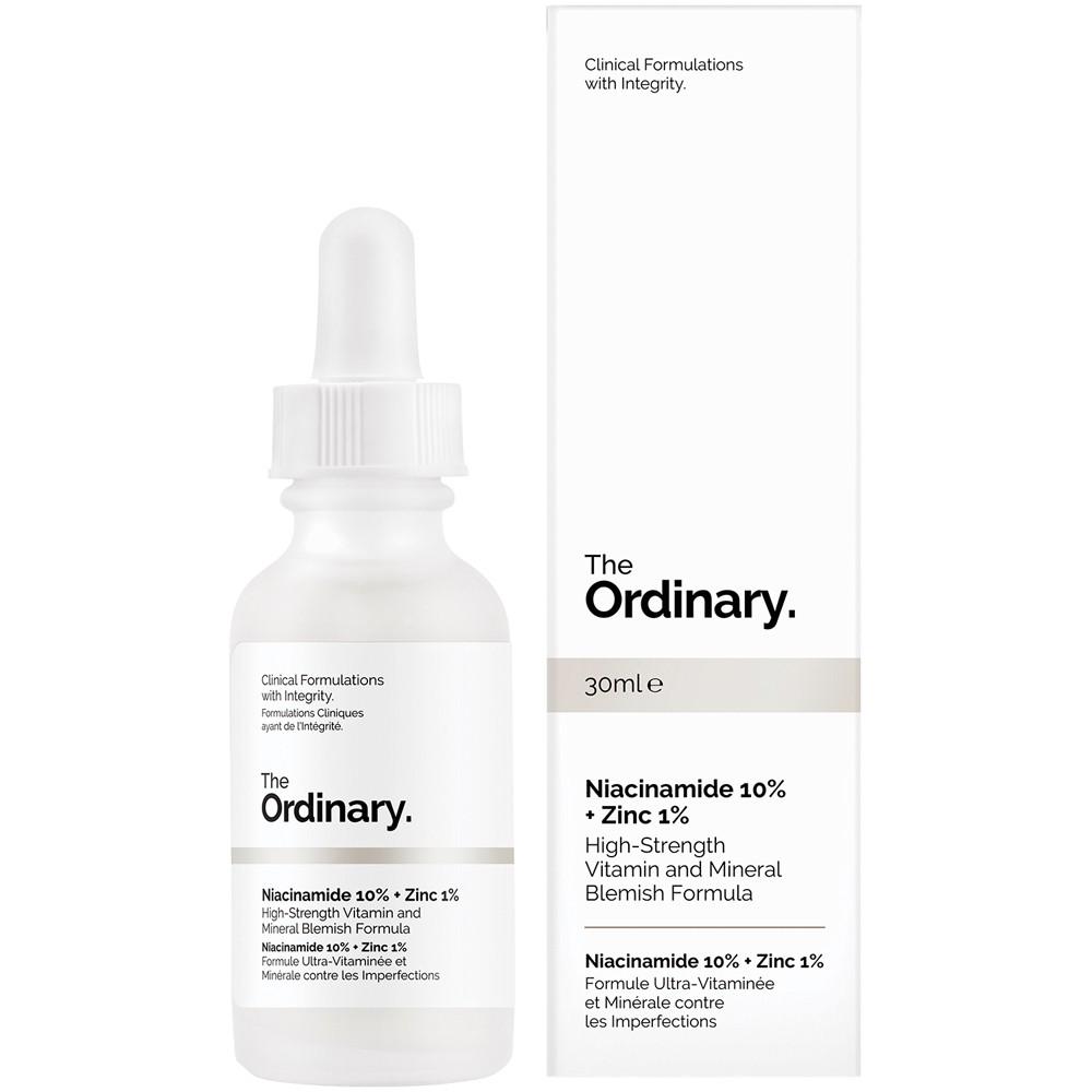 Tinh chất trị mụn và thâm The Ordinary Niacinamide 10% + Zinc 1% Cherry  Shop - Chuyên sỉ và lẻ mỹ phẩm chính hãng từ Hàn Quốc