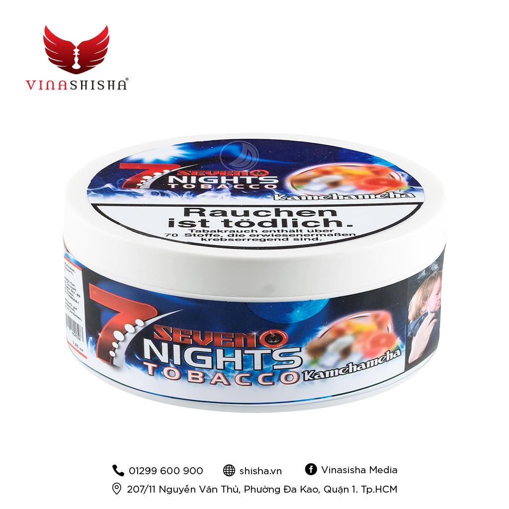 7 Nights Tobacco 200g - Kamehameha