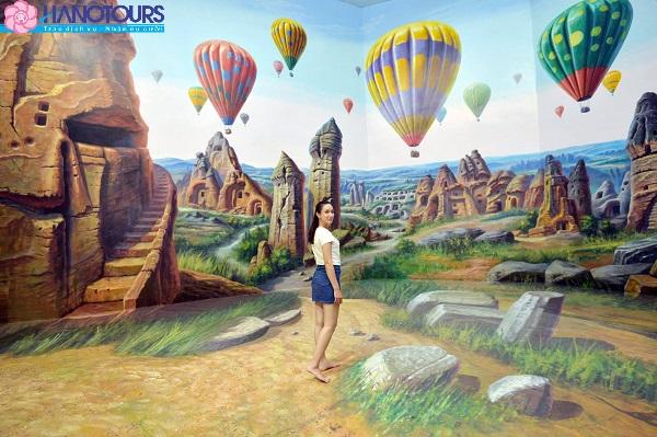 Bảo tàng 3D tại Thái Lan