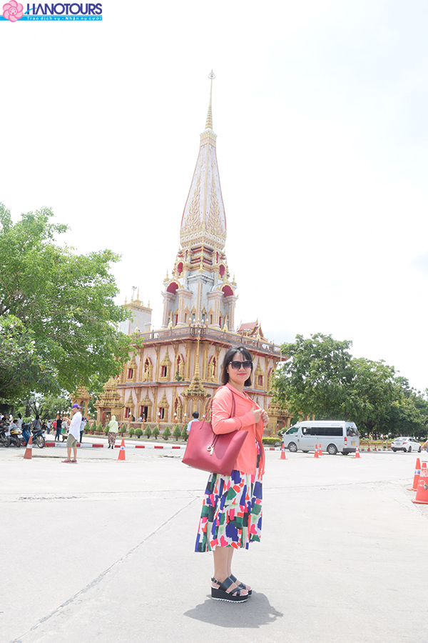 đền Wat Chalong Thái Lan