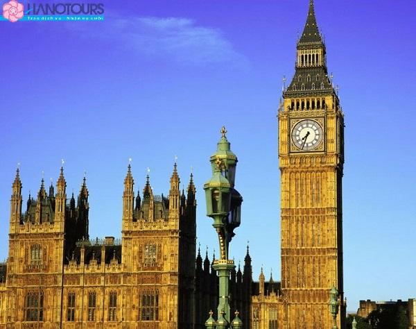 Tháp Bigben Anh Quốc