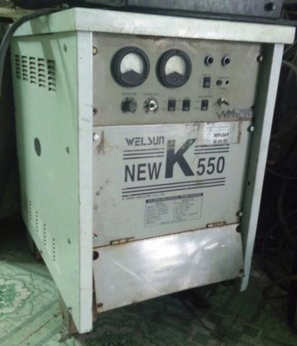 máy hàn mig newK 550 (hàn quốc)