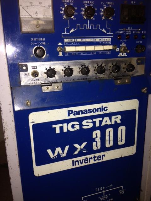 máy hàn tig xung AC/DC 300 (nhật bãi)