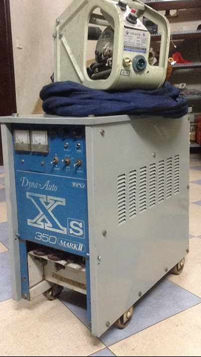 máy hàn mig 350A (nhật)