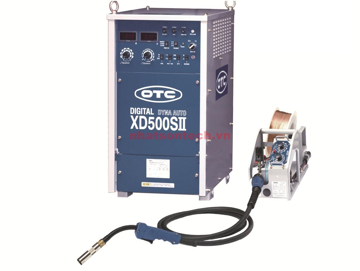 Máy hàn kỹ thuật số OTC DYNA AUTO CO2/MAG XD500SII