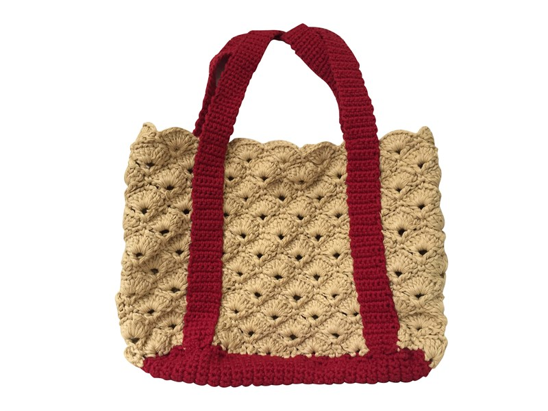 Red Straps Basket