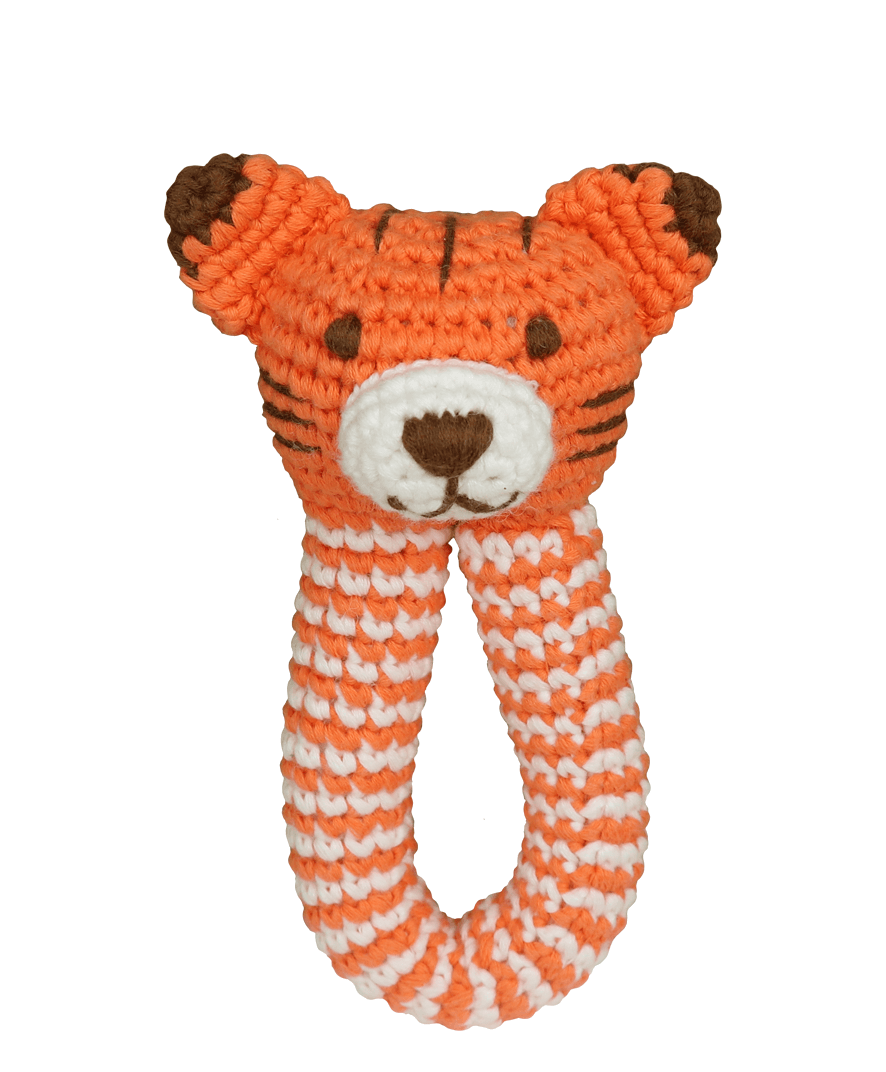 Tiger Rattle Baby