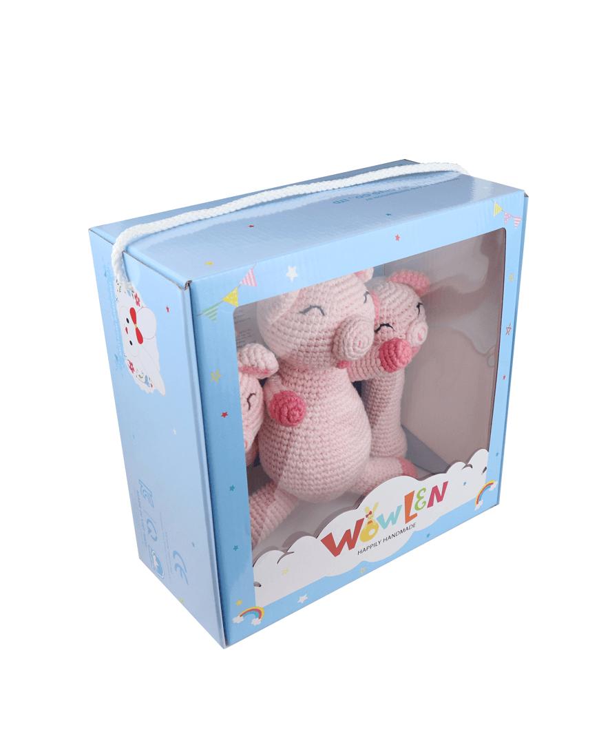 Set Newborn Baby Pig