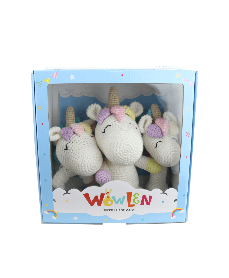 Set Newborn Baby Unicorn