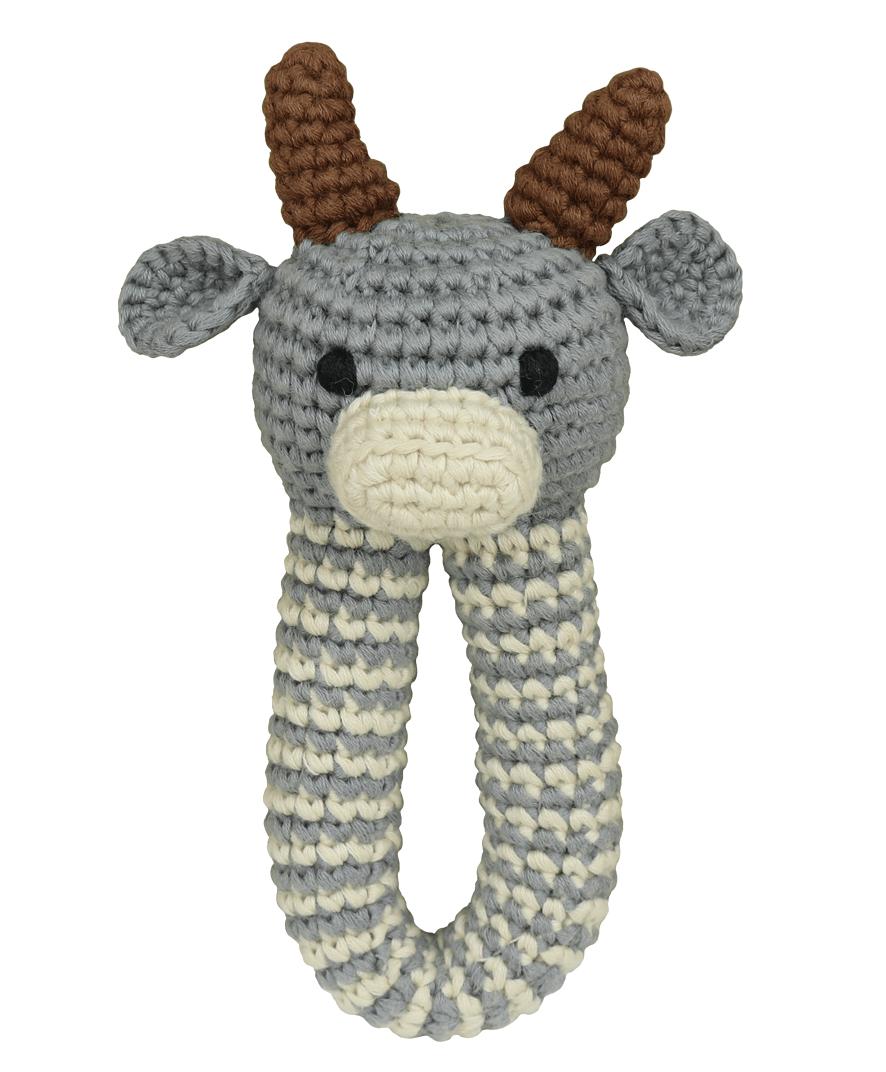 Ox Rattle Baby