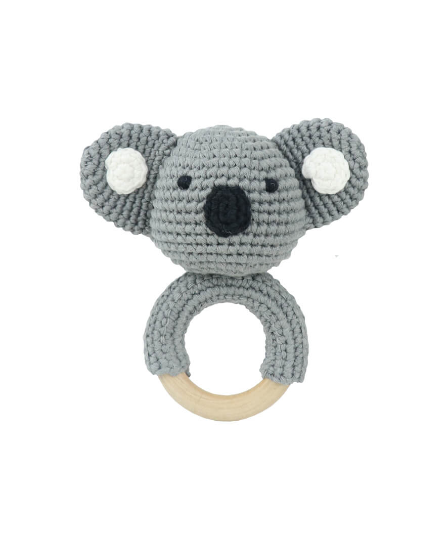 Koala Spot Teething Ring
