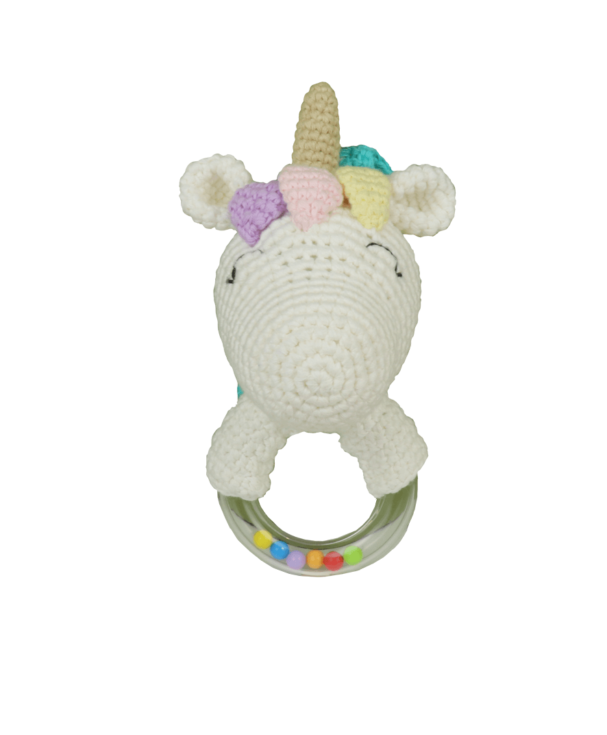 Unicorn Teething Ring