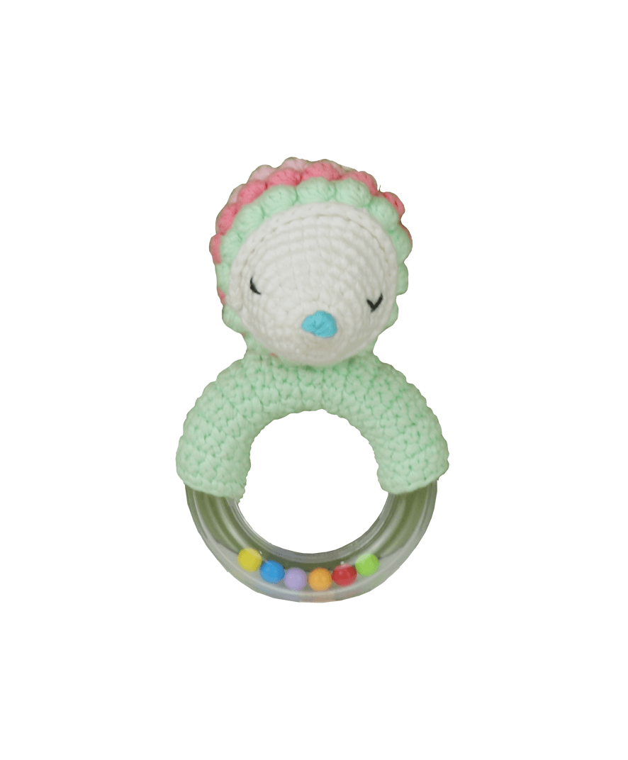 Porcupine Teething Ring