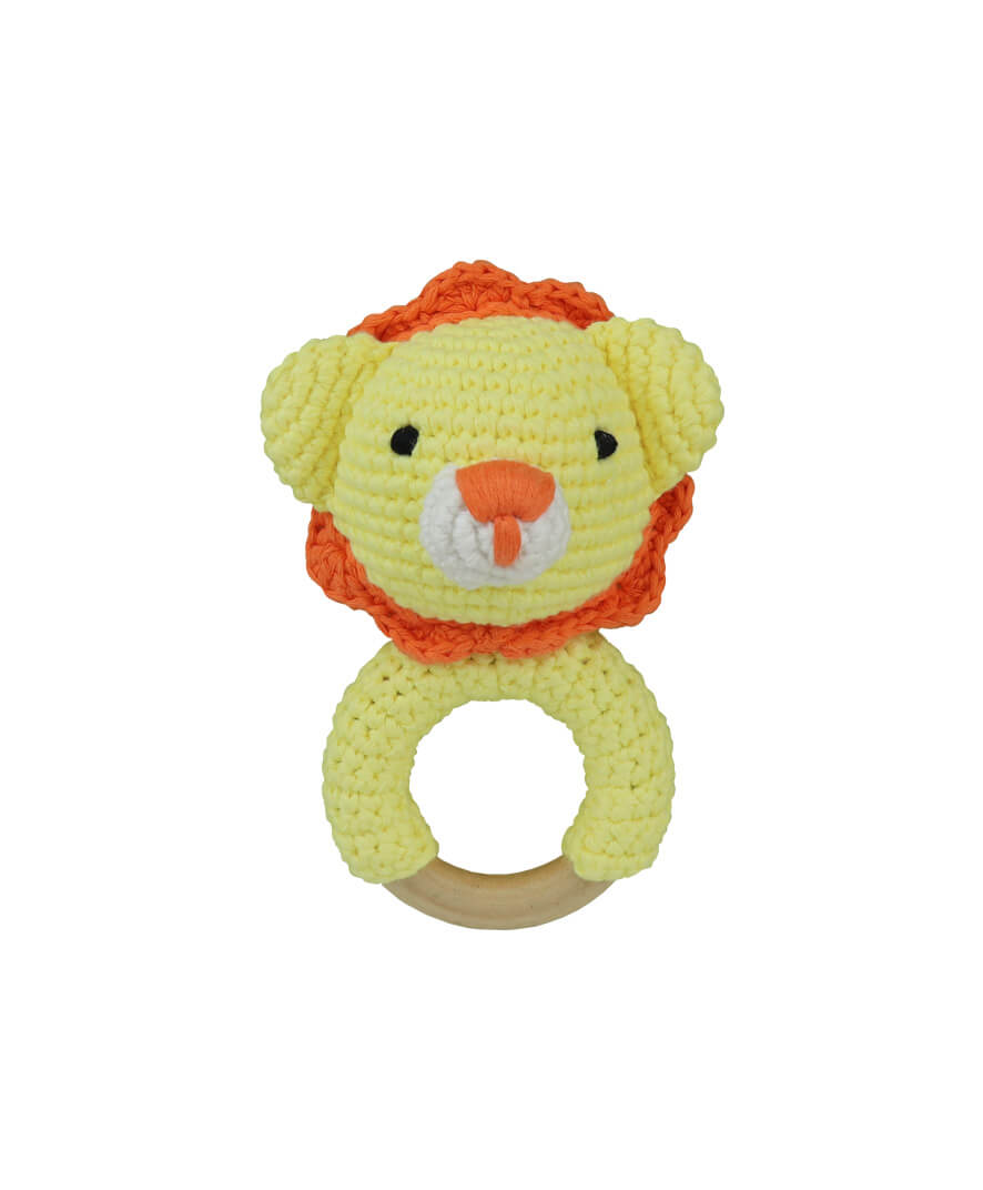 Lion Sun Teething Ring