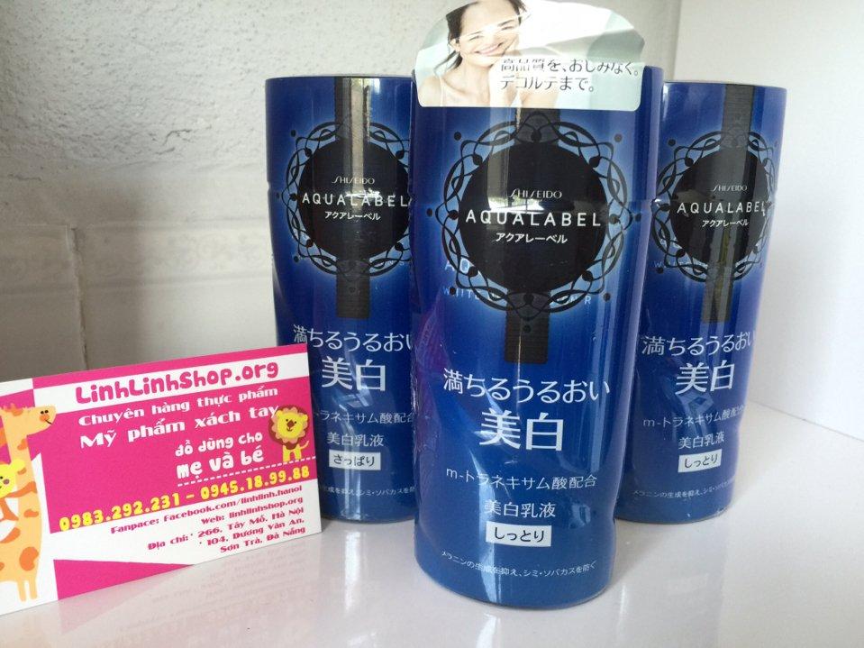 Sữa dưỡng da Aqualabel Shiseido