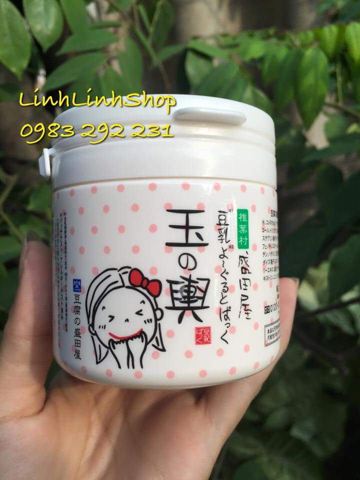 Mặt nạ dưỡng mịn và trắng da Tofu