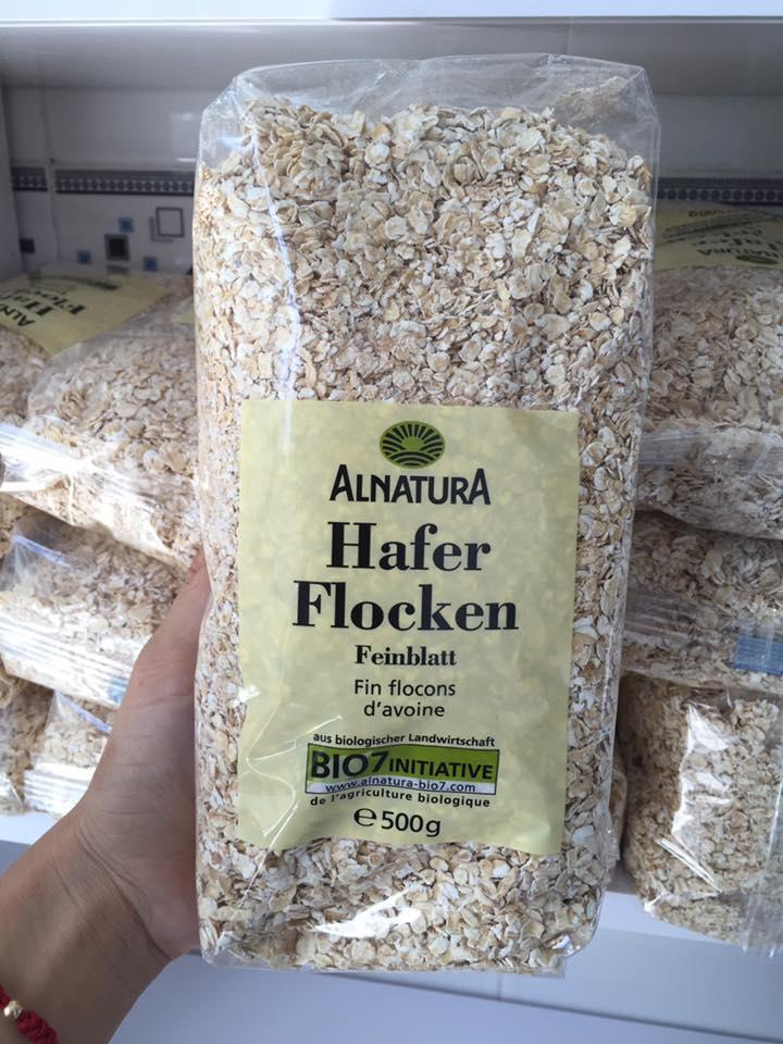 Bột yến mạch Bột yến mạch Bio Hafer Flocken 500g
