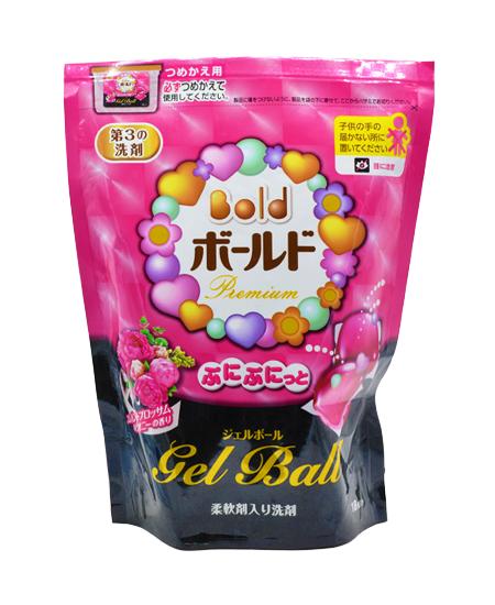 Túi viên nước giặt xả Gel Ball Nhật (hồng)