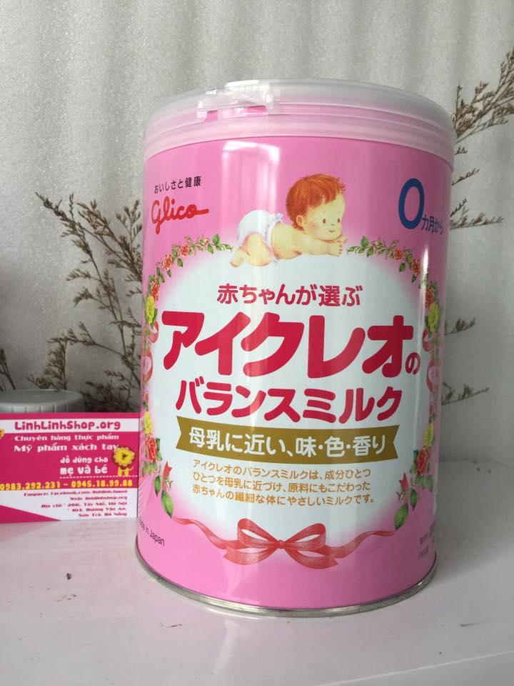 Sữa Glico số 0 800g hàng xách tay Nội địa Nhật