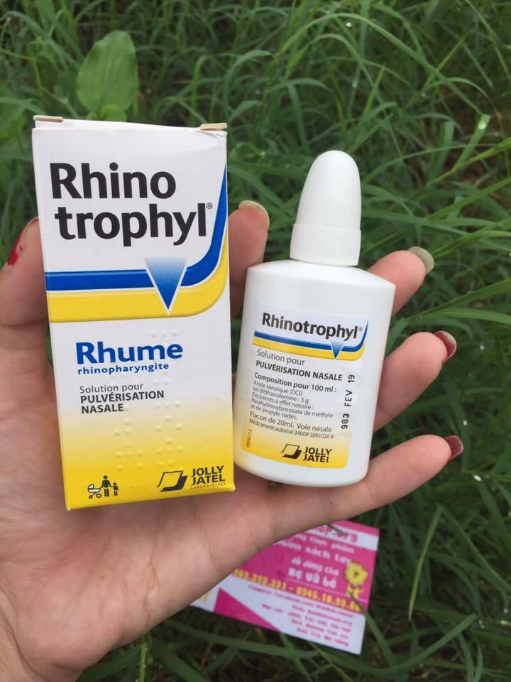 Nhỏ mũi Rhino Pháp