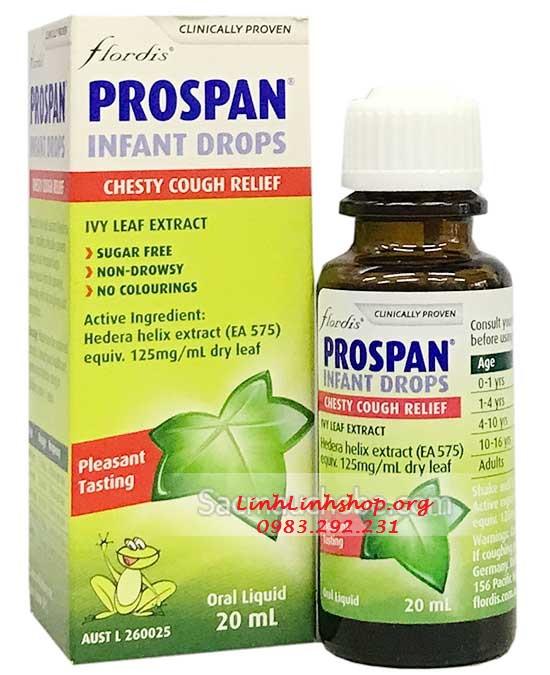Tinh chất chữa ho Prospan Úc (20ml)