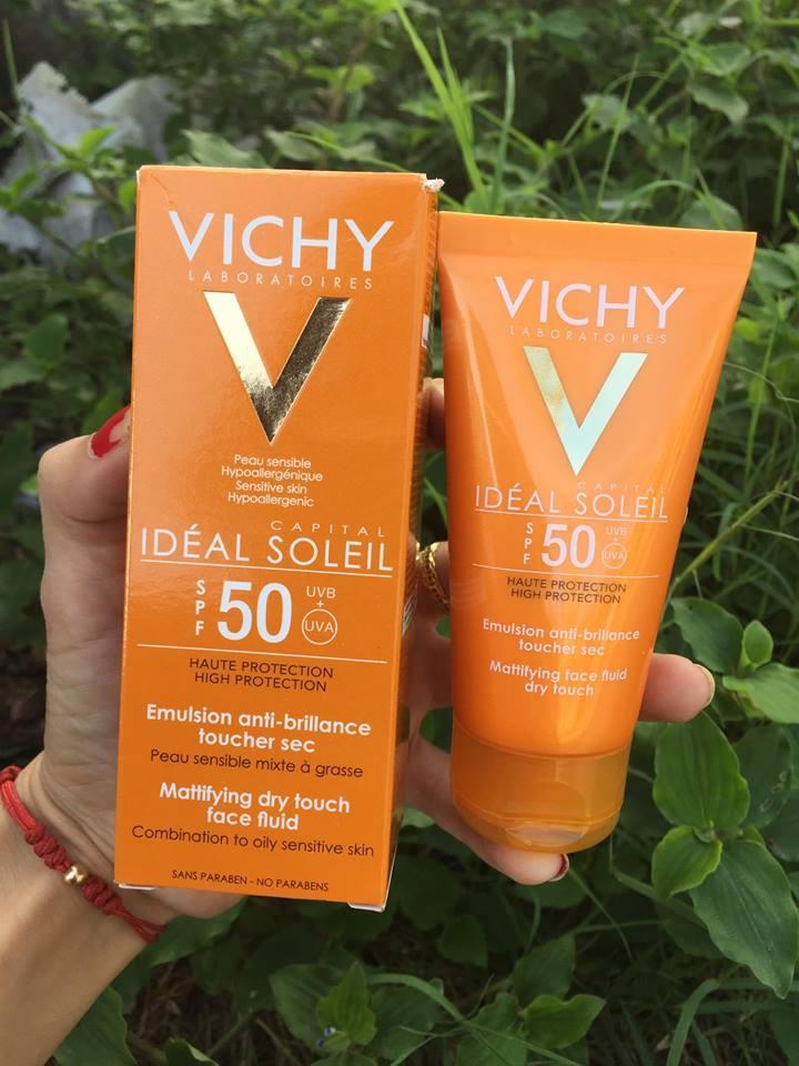 Kem chống nắng Vichy SPF 50 +