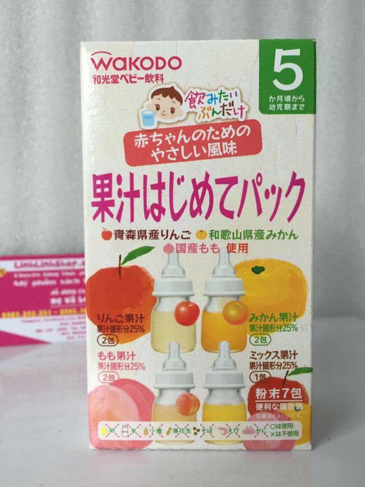 Trà hoa quả Wakodo Nhật