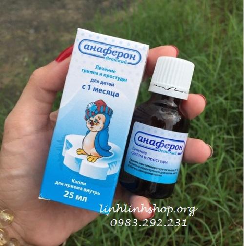 Tăng đề kháng Anaferon siro 25ml