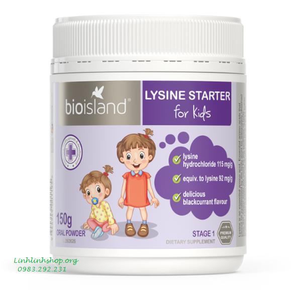 Bột Lysine Tăng chiều cao từ 6 tháng - 6 tuổi