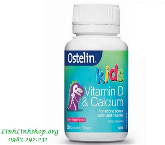 Vitamin Ostelin Kid Canxi