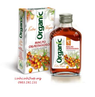 Dầu Hắc Mai Biển 100ml - Organic