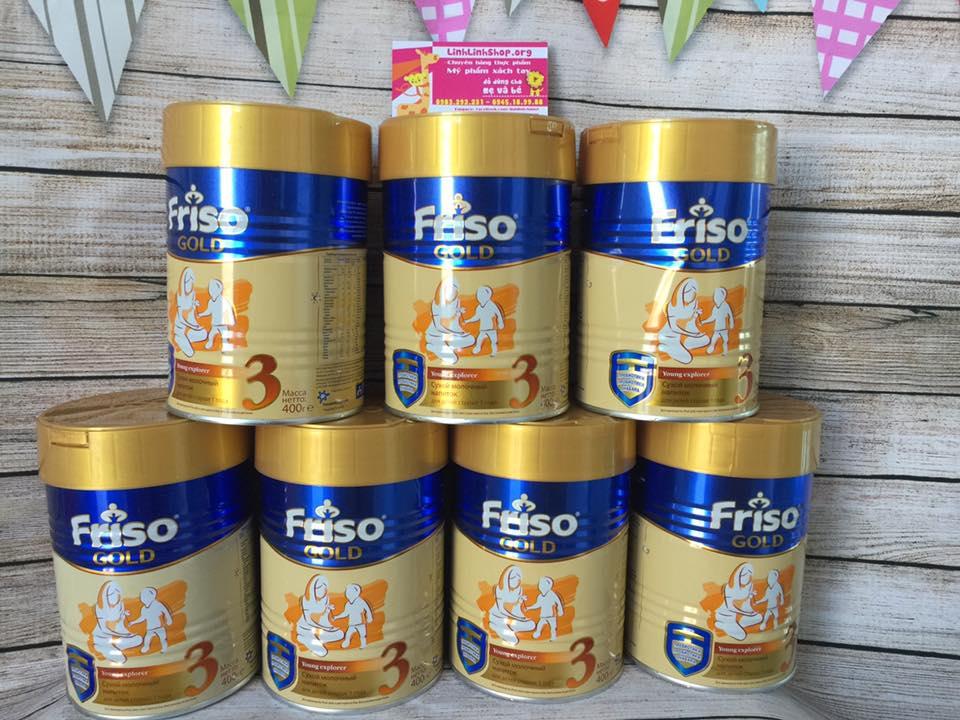 Friso Gold 3 Nga 400g