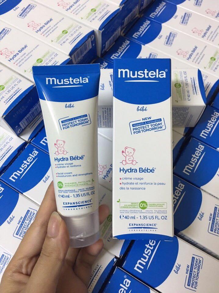 Kem nẻ cho bé Mustela (40ml)