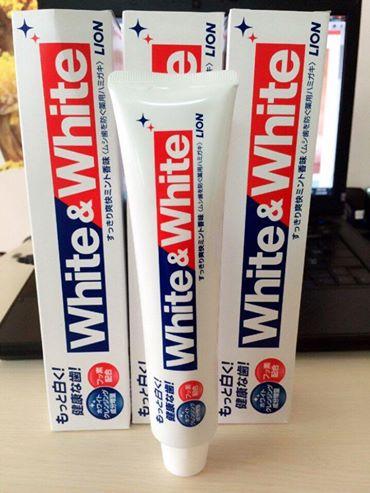 Kem Đánh Răng White And White Lion 150g Của Nhật